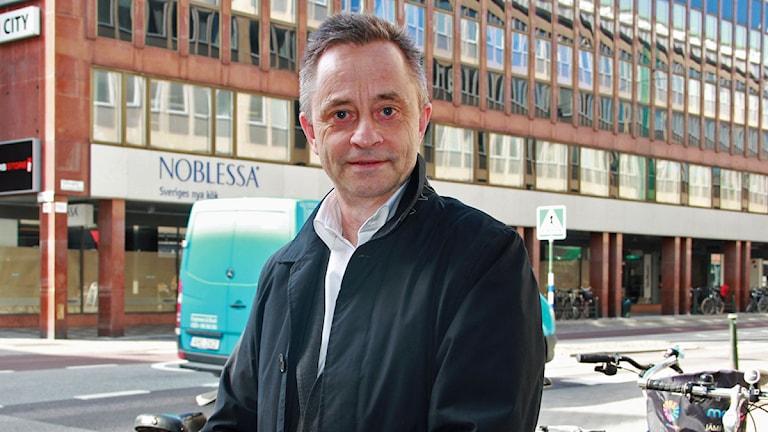 Jan Eriksson, förvaltningschef på Skånes universitetssjukvård.