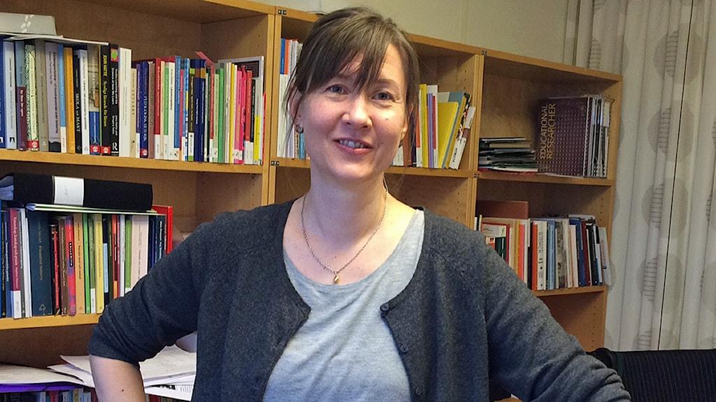Sinikka Neuhaus, utbildningschef, ämneslärarutbildningen, Lunds universitet Foto: Saffi Yucel/Sveriges Radio