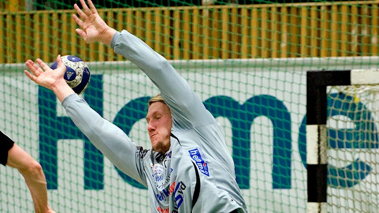 Anders Persson, målvakt i Ystads IF Foto: Adam Ihse/TT