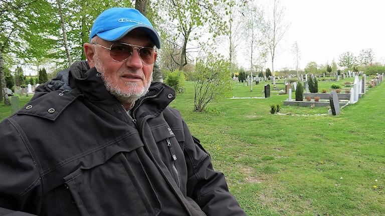 Sabahudin Muhic levde i och överlevde kriget i Bosnien-Hercegovina men blev ärrad för livet. Foto: Svjetlana Pastuhovic/Sveriges Radio