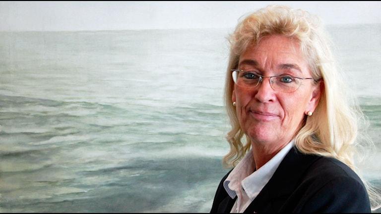 Marie-Louise Lundberg. Foto: Raluca Dintica/Sveriges Radio