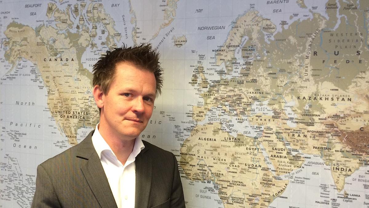 Mikael Rosén, vd för Skåne Care.