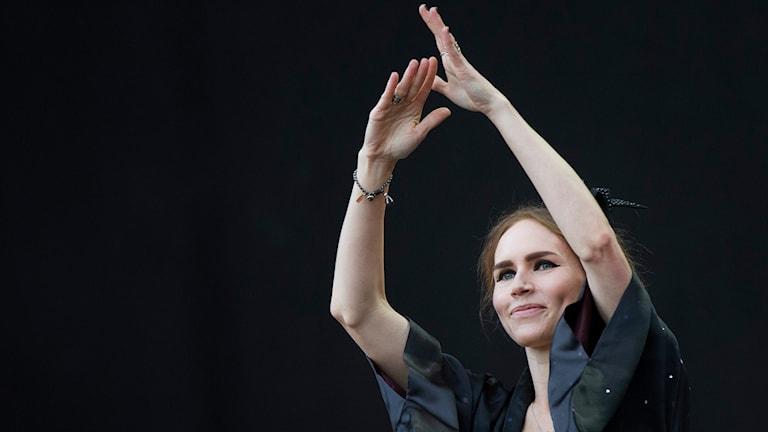Nina Persson. Arkivbild: Björn Larsson Rosvall/TT