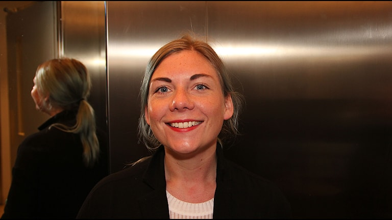 Andrea Arvidsson. Foto: Jonathan Hansen/Sveriges Radio