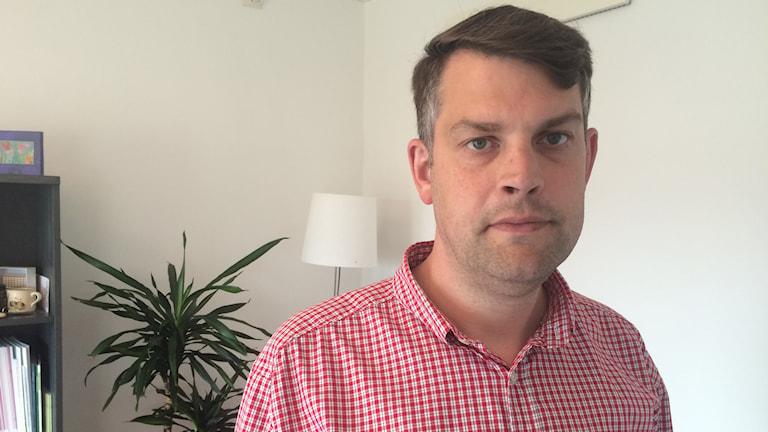 Andreas Schönström (S), kommunalråd i Malmö. Foto: Dimitri Lennartsson/Sveriges Radio.
