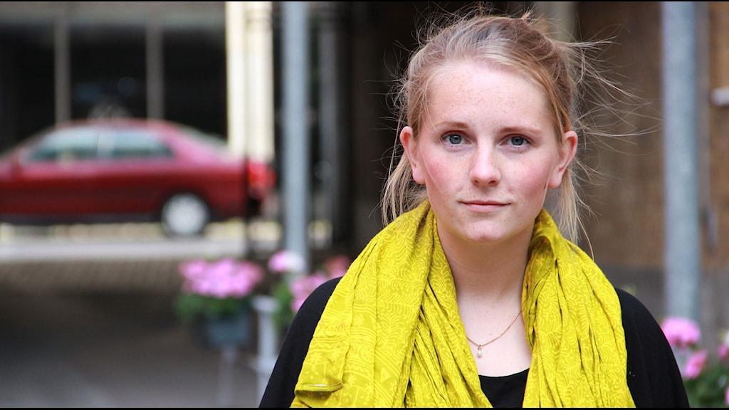 Anna Norelius, initiativtagare till projektet Insikt. Foto: Jenny Cederbom/Sveriges Radio