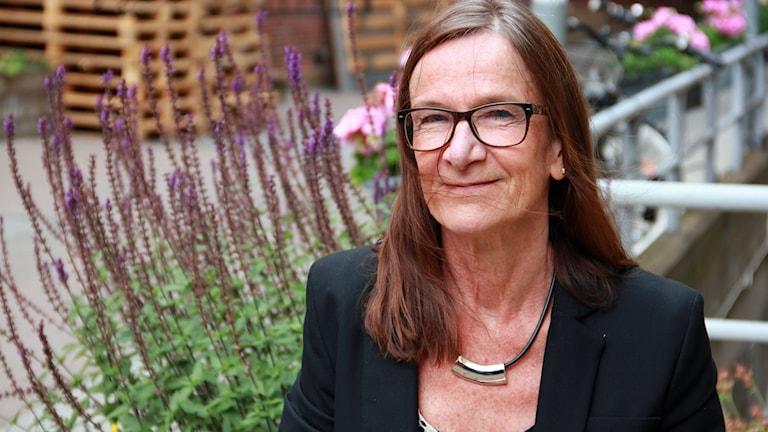 Årets chef i Kävlinge heter Agneta Olander, rektor på Tolvåkerskolan. Foto: Jenny Cederbom/Sveriges Radio