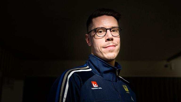 Kim Andersson, handbollsstjärna som är tillbaka i Ystads IF. Foto: Ola Torkelsson/TT
