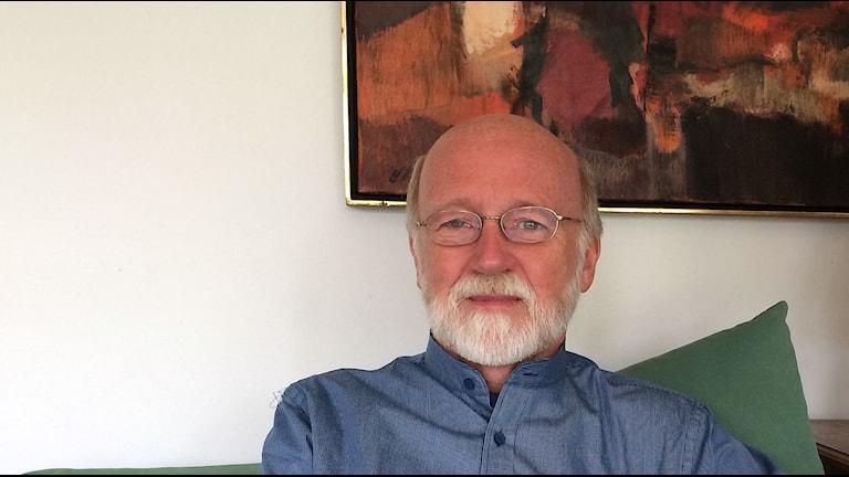 Peter Dahlgren, professor. Foto: Evelina Olsson/Sveriges Radio