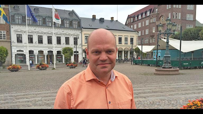 Anders Almgren (S). Foto: Jonathan Hansen/Sveriges Radio