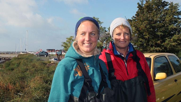 Cathrine Ek, kommunekolog och Matilda Gradin, miljöstrateg i Trelleborg
