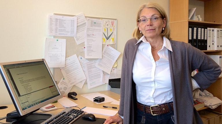 Pia Teleman, verksamhet för kvinnokliniken vid Skånes Universitetssjukhus. Foto: Saffi Yucel/Sveriges Radio