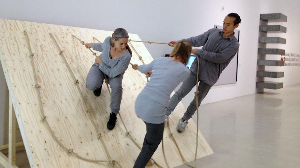 Minimalism och dans på Moderna Museet