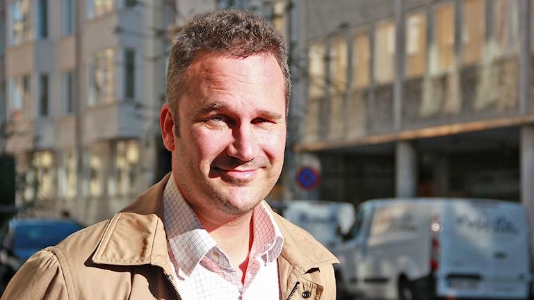 Björn Johnson, narkotikaforskare vid Malmö högskola. Foto: Lars Ekman/Sverigs Radio