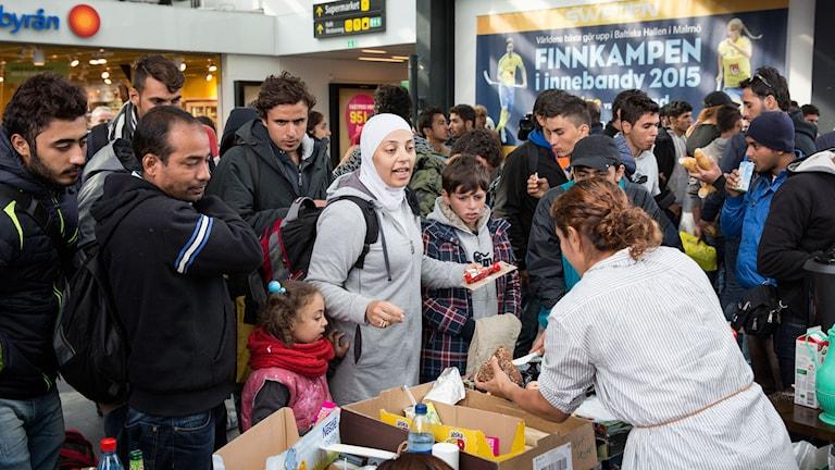 Flyktingar Malmö C