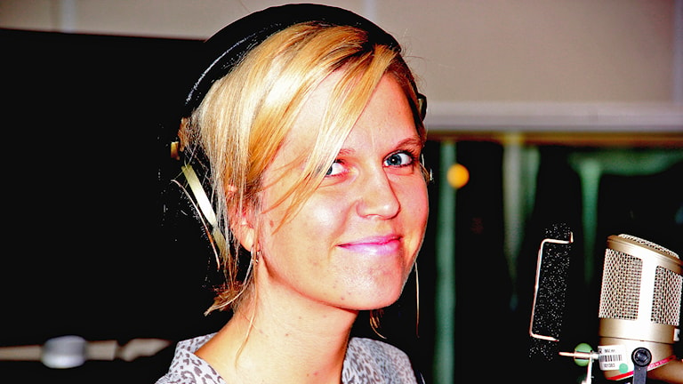 Julia Blomberg. Foto: Lars Ekman/Sverigs Radio