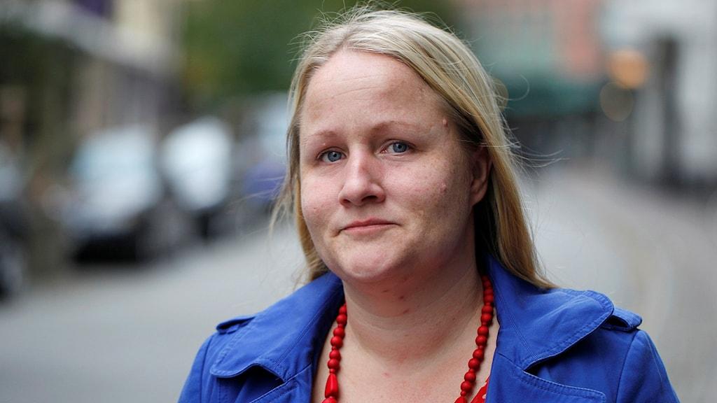 Anna Lena Hogerud (S), ordförande i Region Skånes hälso- och sjukvårdsnämnd Foto: Karin Olsson-Bendix/Sveriges Radio