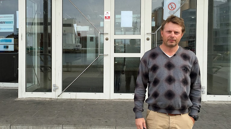 Anders Rosdahl, biträdande rektor, Design och Construction College Gymnasium i Malmö. Foto: Anton Kalm/Sveriges Radio