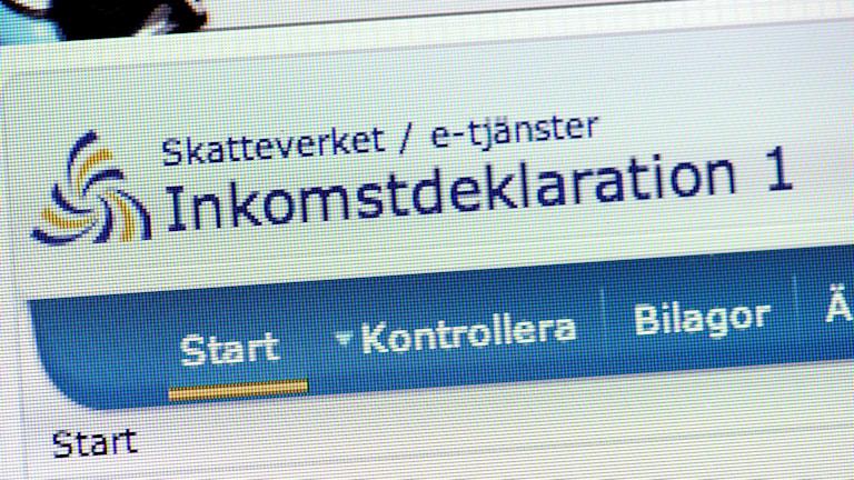 Deklarera på nätet via dator eller smartphone Foto: Janerik Henriksson/TT