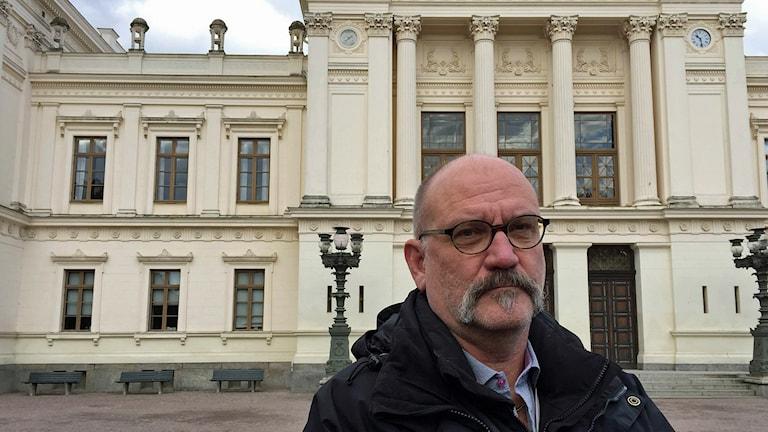 Per Gustafson, säkerhetschef vid Lunds universitet. Foto: Jonathan Hansen/Sveriges Radio