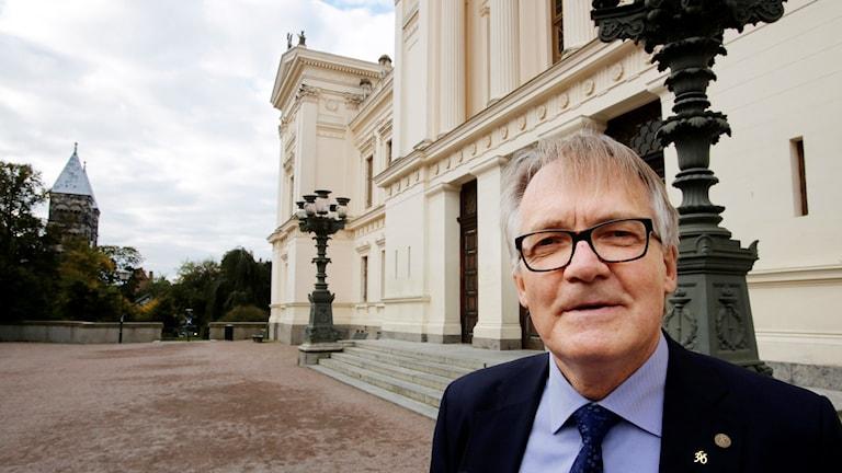Torbjörn von Schantz, rektor för Lunds universitet. Foto: Stig-Åke Jönsson/TT