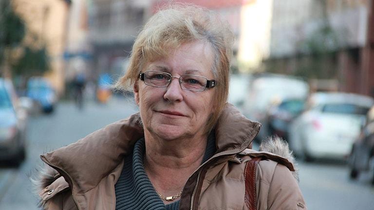 Jolanta Monsert. Foto: Lars Ekman/Sveriges Radio