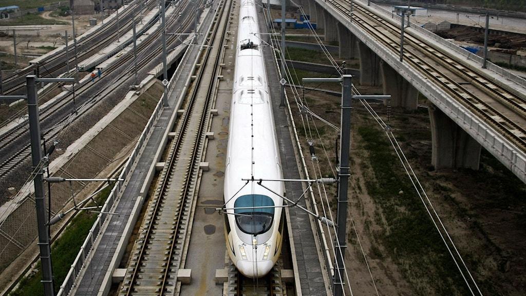 Höghastighetståg. Foto: AP-Photo