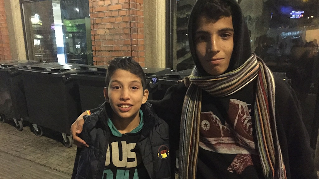 Majdi-Ali,-Abdul-Rahman-Ali-ensamkommande-flyktingar