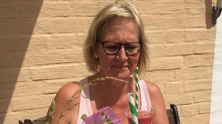 Karin Lindfors, mindfulnessinstruktör. Foto: Privat
