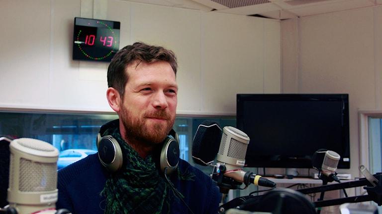 Carl Johan Folkesson. Foto: Lina Sundahl Djerf/Sveriges radio