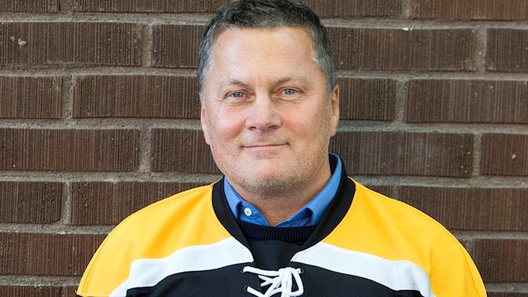 Stefan Lundh är tränare för IK Pantern. Foto: Bertil Ericson/TT