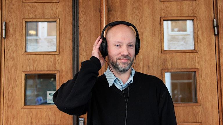 Jonas Brännström, docent i audiologi vid Lunds universitet. Foto: Lina Sundahl Djerf/SR