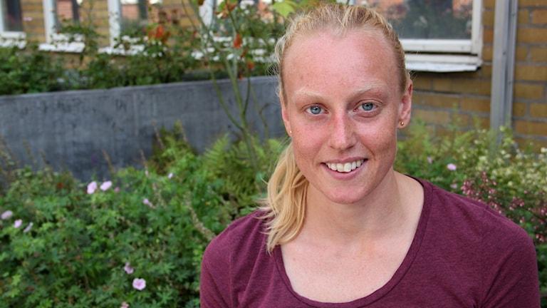 Mikaela Persson, triathlet.