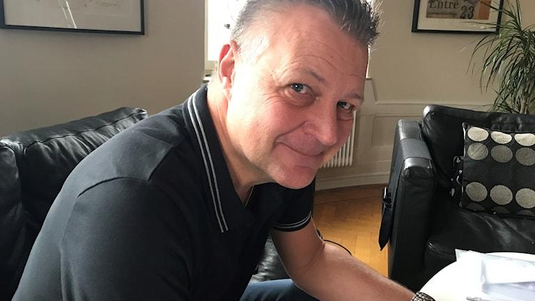"""Ulf """"Tubbi"""" Sivertsson, tränare för OV Helsingborg."""