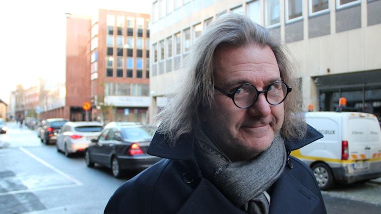 Johan Lundin, historiker. Foto: Johanna Hellström