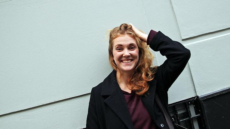 Katja Slonawski ska leda Lundapride 2016. Foto: Lina Sundahl Djerf/SR