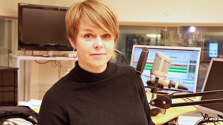 Katrin Stjernfeldt Jammeh (S) är kommunstyrelseordförande i Malmö. Foto: Jenny Cederbom/Sveriges Radio