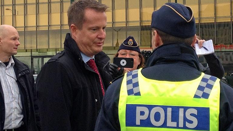 Inrikesminister Anders Ygeman (S). Foto: Jonathan Hansen/Sveriges Radio