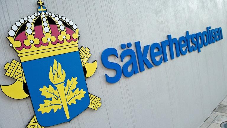 Säkerhetspolisens (Säpo) huvudkontor i Solna. Foto: Maja Suslin/TT