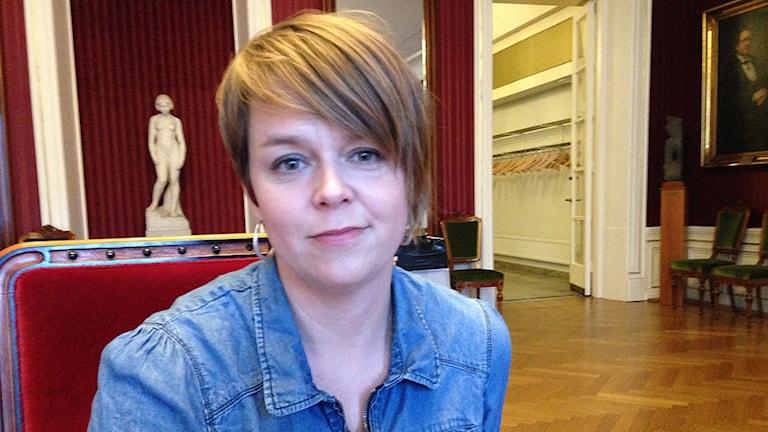 Katrin-Stjernfeldt-Jammeh. Foto: Andreas Öhrvall Lovén/Sveriges Radio