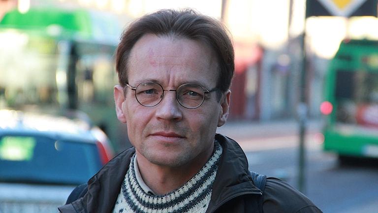 Markku-Rummukainen, klimatforskare. Foto: Lars Ekman/Sveriges Radio