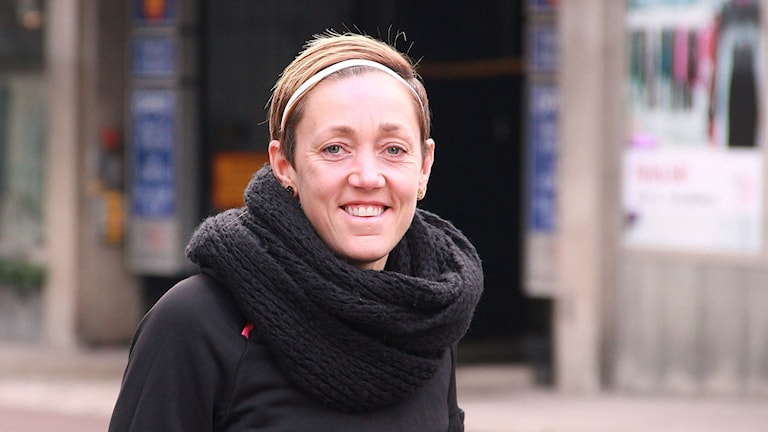 Therese Sjögran. Foto: Lars Ekman/Sveriges Radio