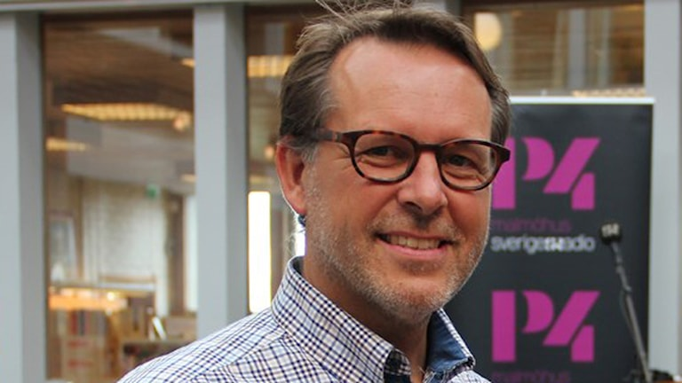 Lars Thunberg, kommunalråd för KD Kristdemokraterna i Helsingborg och styrelseledamot i Sveriges Ekokommuner. Foto: Sveriges Radio