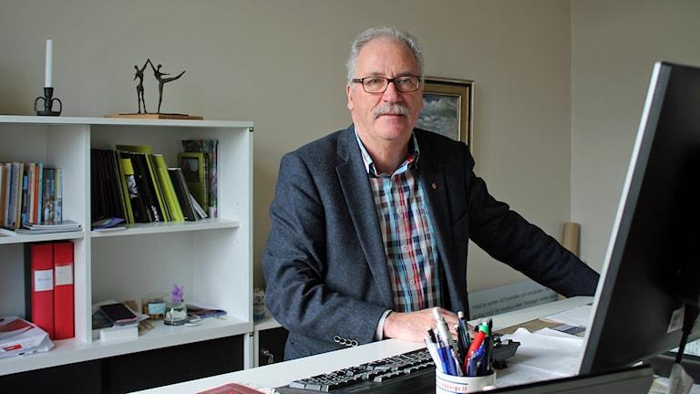 Kent Mårtensson, socialdemokrat och kommunalråd i Ystad. Foto: Malin Thelin/Sveriges Radio