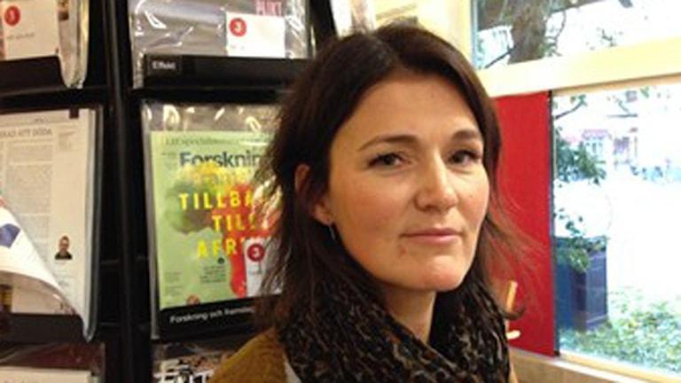 Susanne Brommé, integrationssamordnare Höganäs. Foto: Lill Eriksson/Sveriges Radio