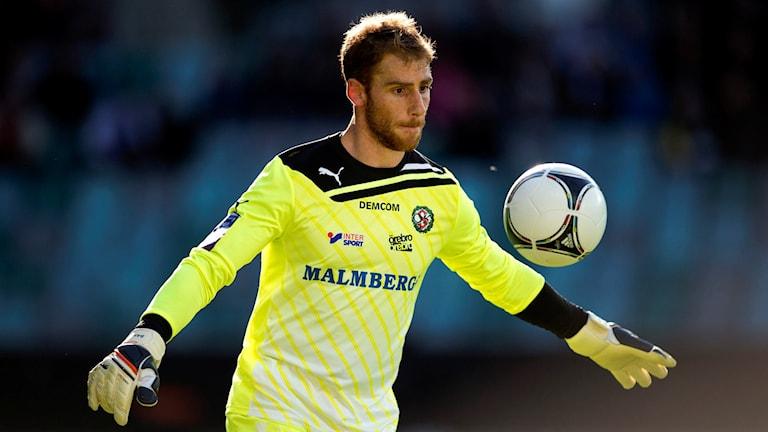 Tomer Chencinski har bland annat varit målvakt för Örebro SK. Foto: Adam Ihse/TT.