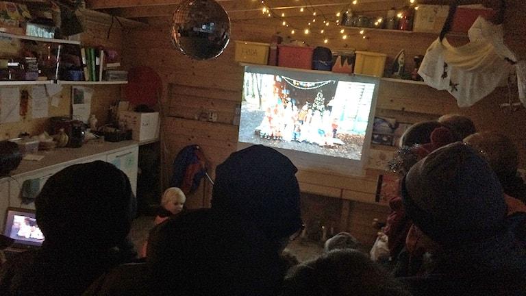 Luciafirande på Stock och sten i Malmö. Foto: Madeleine Fritsch-Lärka/Sveriges Radio