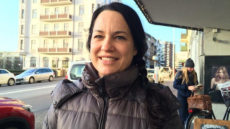 Pia-Lotta Bylund, en av de ideella krafterna i nätverket Prosit.