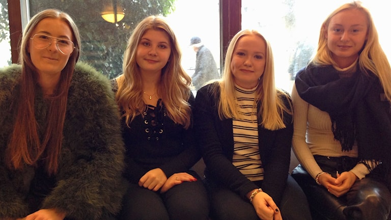 Linnea Eriksson, Antonija Sten, Sofia Lindahl och  Mika Andersson