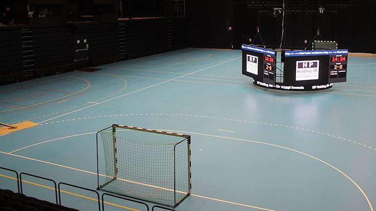 Ystad arena. Foto: Malin Thelin/Sveriges Radio
